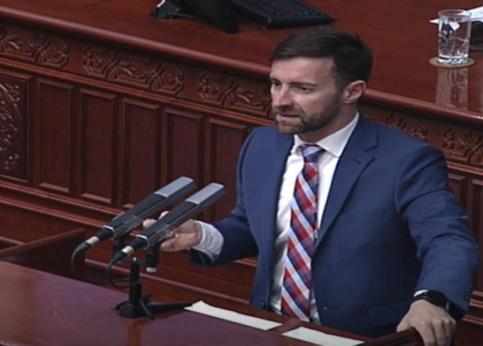 Димовски: Денеска се изврши тежок фалсификат со предлог законот за јавно обвинителство