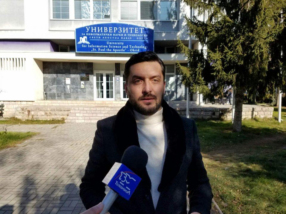 ВМРО-ДПМНЕ ОК Охрид: СДСМ и Заев застанаа на патот на иднината на младите и развојот на образованието во Охрид
