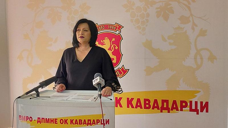 ВМРО-ДПМНЕ ОК Кавадарци: СДСМ се фали со проекти на ВМРО-ДПМНЕ од предизборната програма
