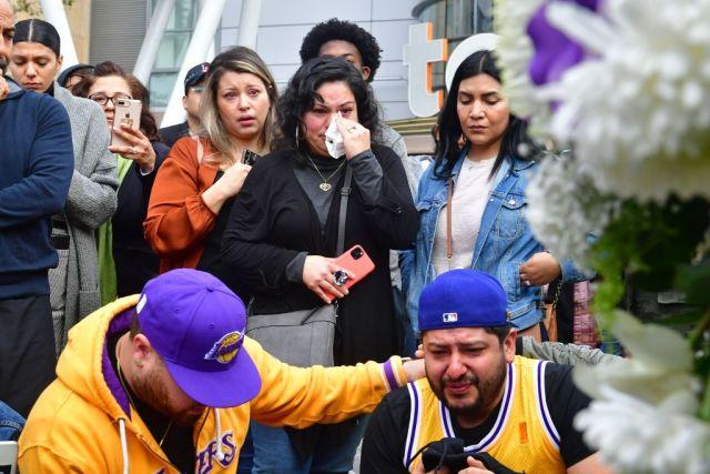 (ВИДЕО) Лос Анџелес во траор, навивачи се собираат пред Стејплс центарот