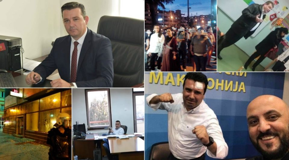 СДСМ беше покровител на упади, уништување, тепање, но им пречи Трипуновски кој затекна раководител со нозете на биро