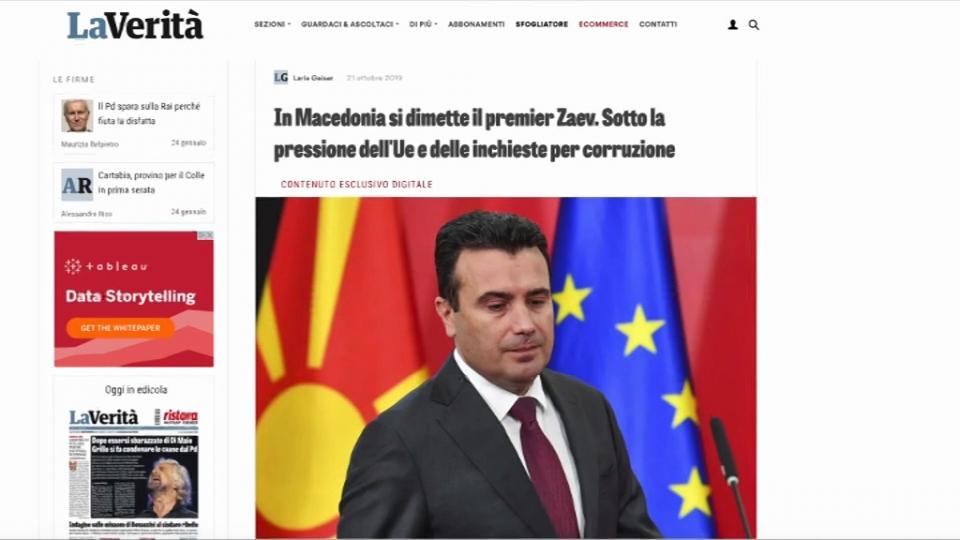"""Мицкоски за продолженијата на """"Ла Верита"""": Тоа е доказ дека политичарите од транзицијата функционираат со поткуп, закани и уцени"""
