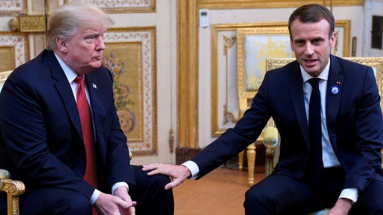 Макрон бара од Трамп американските трупи од Африка да не се повлекуваат