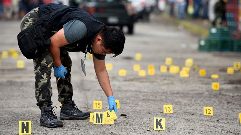Рекорден број на убиства во Мексико