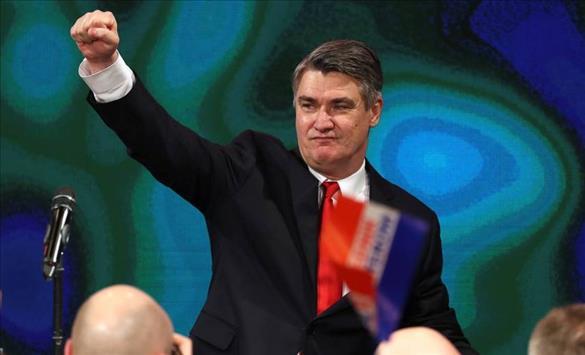 Новиот претседател на Хрватска, Зоран Милановиќ се врати во политиката по речиси четиригодишен прекин