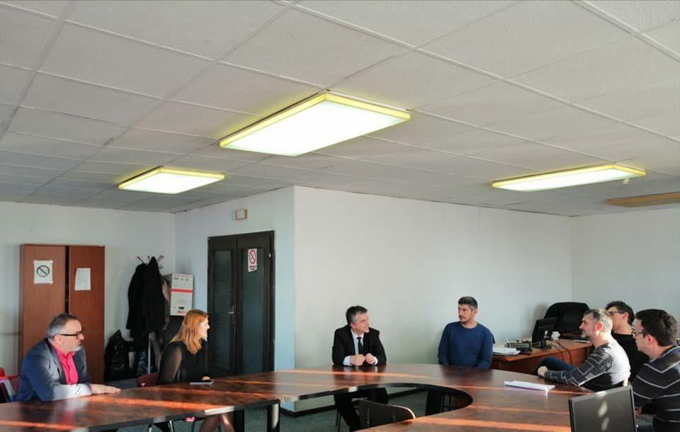 Стаменковска во посета на Секторот за комуникации: Потребно вистинско вложување во високо стручен кадар