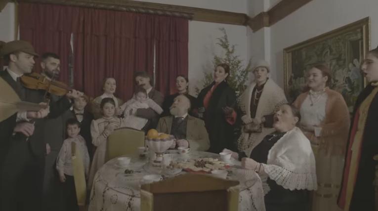 """Нов видео запис за божиќна каланда – коледарска песна """"Христос се роди денес"""""""