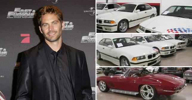 Продадени 21 автомобил на Пол Вокер
