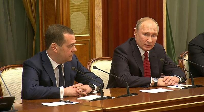 Формирана работна група за подготовка на предлог измените на рускиот Устав