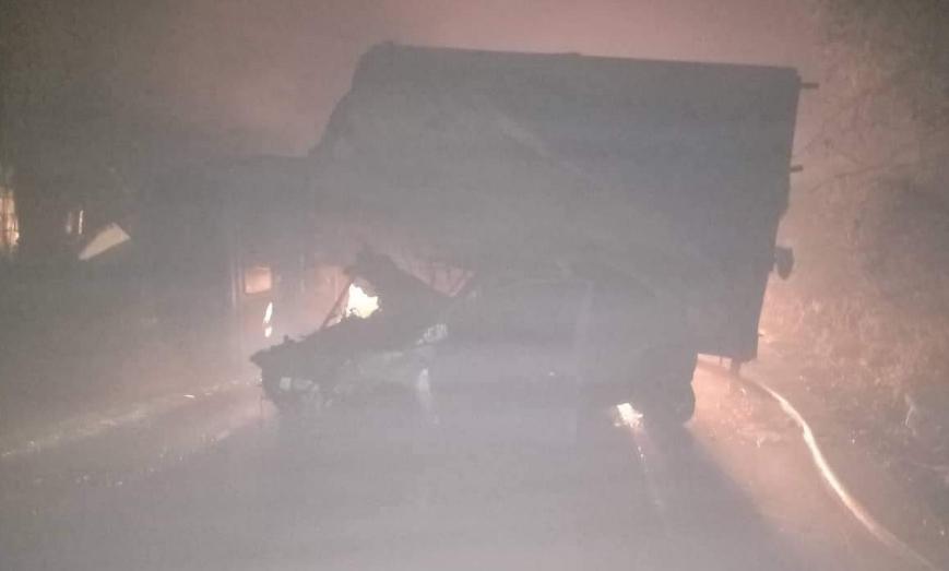 Ужасна сообраќајка во близина на Скопје, три лица тешко повредени
