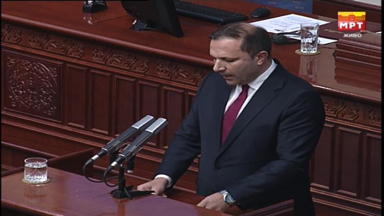 СДСМ бега од договорот, Спасовски вели: Нема распуштање на Собранието без да се донесат законите