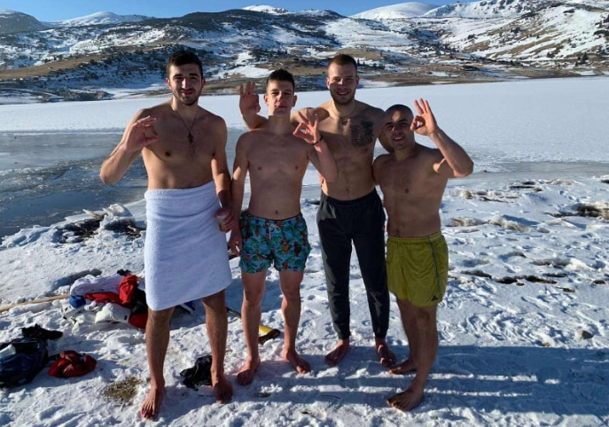 Македонската таеквондо репрезентација се искапе на -10 степени и 2000 метри надморска височина