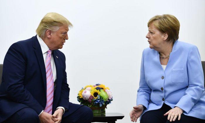 Меркел и Трамп разговараа за Иран, Ирак и Либија