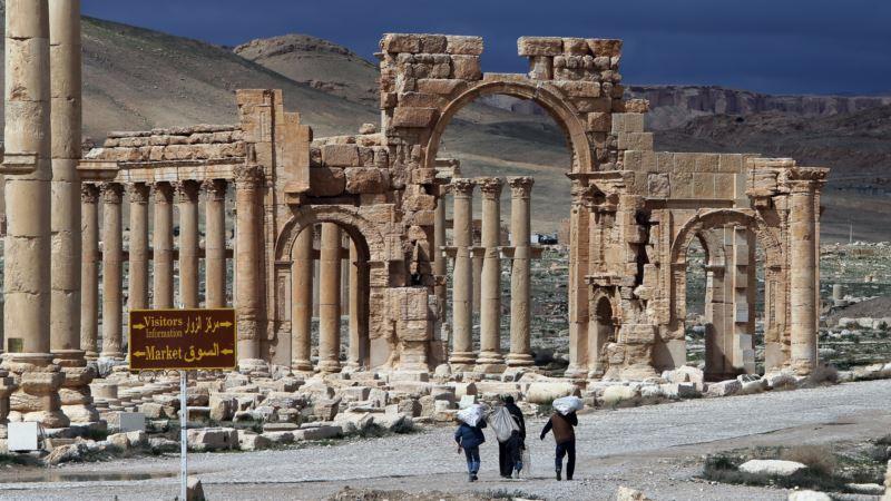 Обновата на Триумфалната порта во Палмира ќе чини милион долари