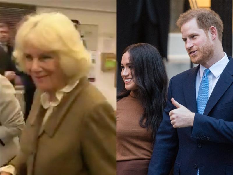 ВИДЕО: Ја прашаа Камила дали ќе и недостигаат Хари и Меган, одговорот стана хит