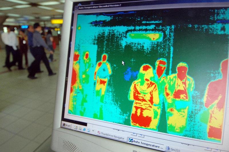 Термо-камера и на аеродромот во Скопје