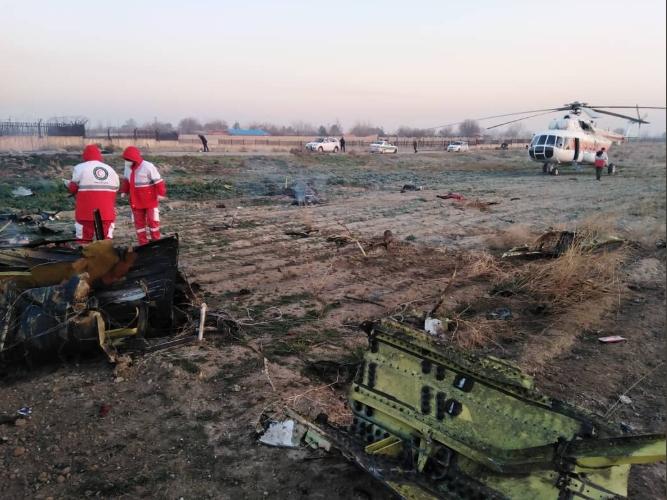Познато дали урнатиот украинскиот авион бил соборен