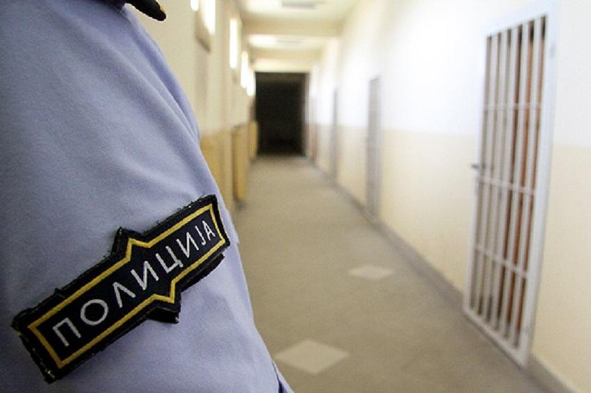 Хашиш пронајден во дворот на тетовскиот затвор