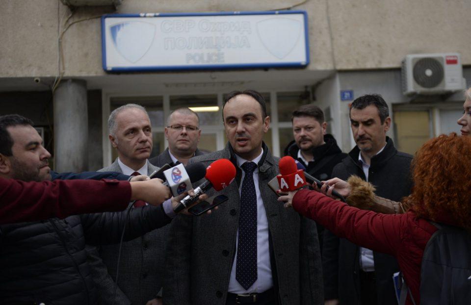Чулев оствари работна средба со раководството на СВР Охрид
