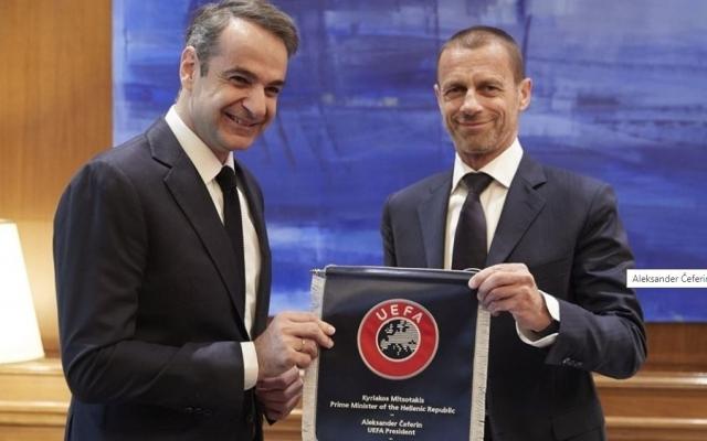 Чеферин им вети на Грците: Ќе помогнеме да се исчисти фудбалот од насилство и корупција!