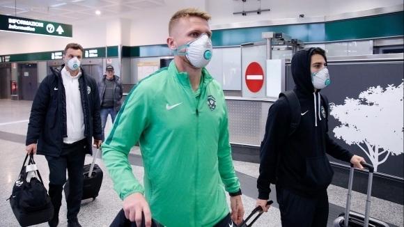 ФОТО: Противниците на Интер маскирани влегоа во Италија