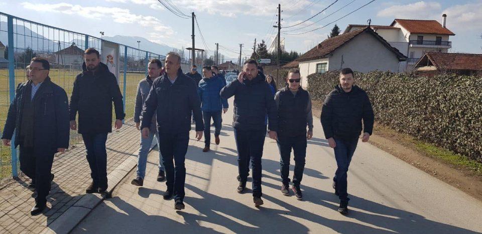 Трајко Славевски и Тони Јаревски на средба со граѓаните на Бардовци