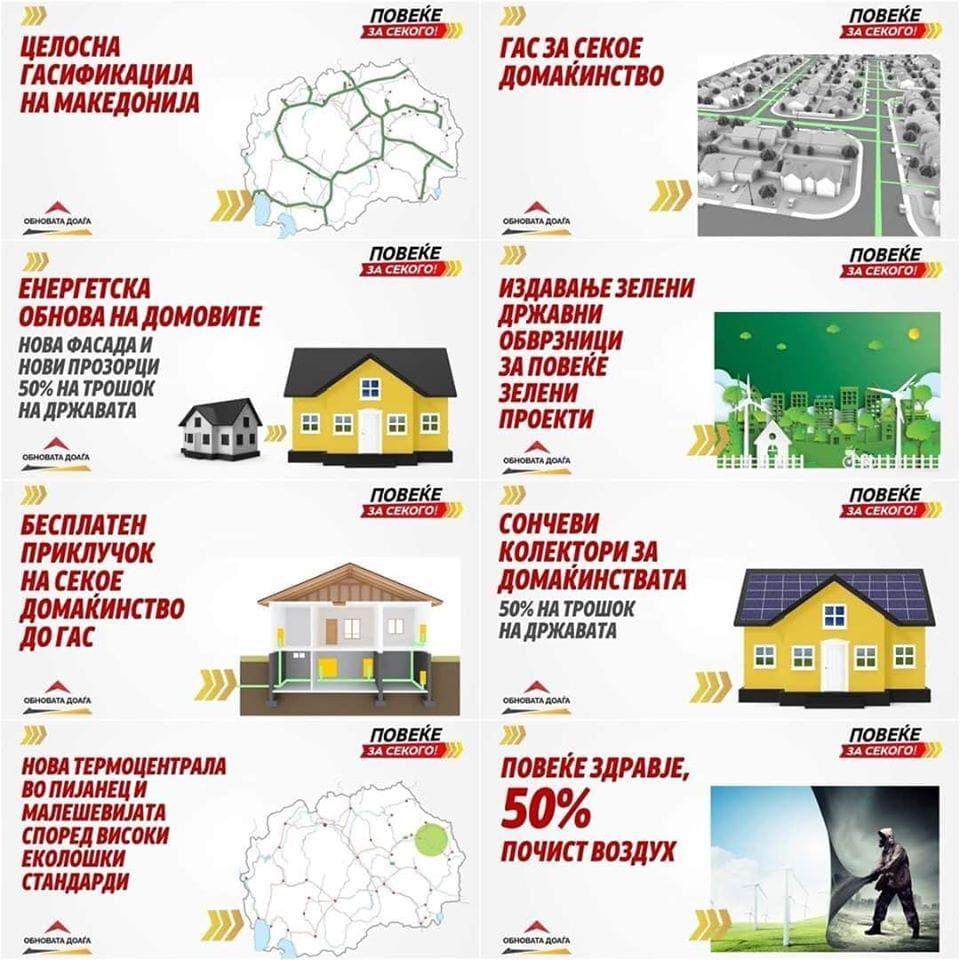 Комисијата за енергетика на ВМРО-ДПМНЕ: Пред фактите и советниците на СДСМ се збунети, СДСМ во паника поради проектите на ВМРО-ДПМНЕ