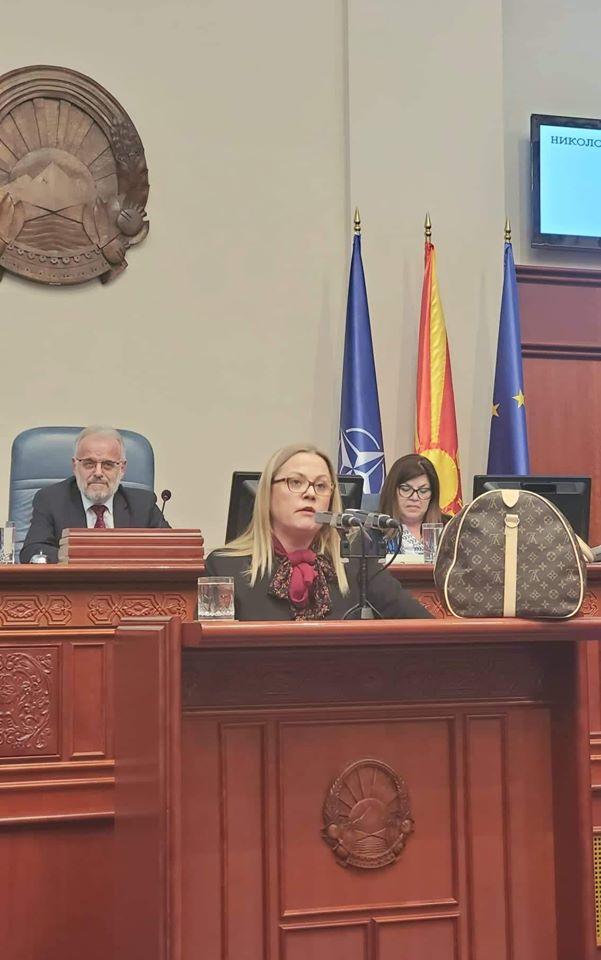 Стојановска: Ова не е европски закон, во ЕУ нема пример за вакво силување на правдата