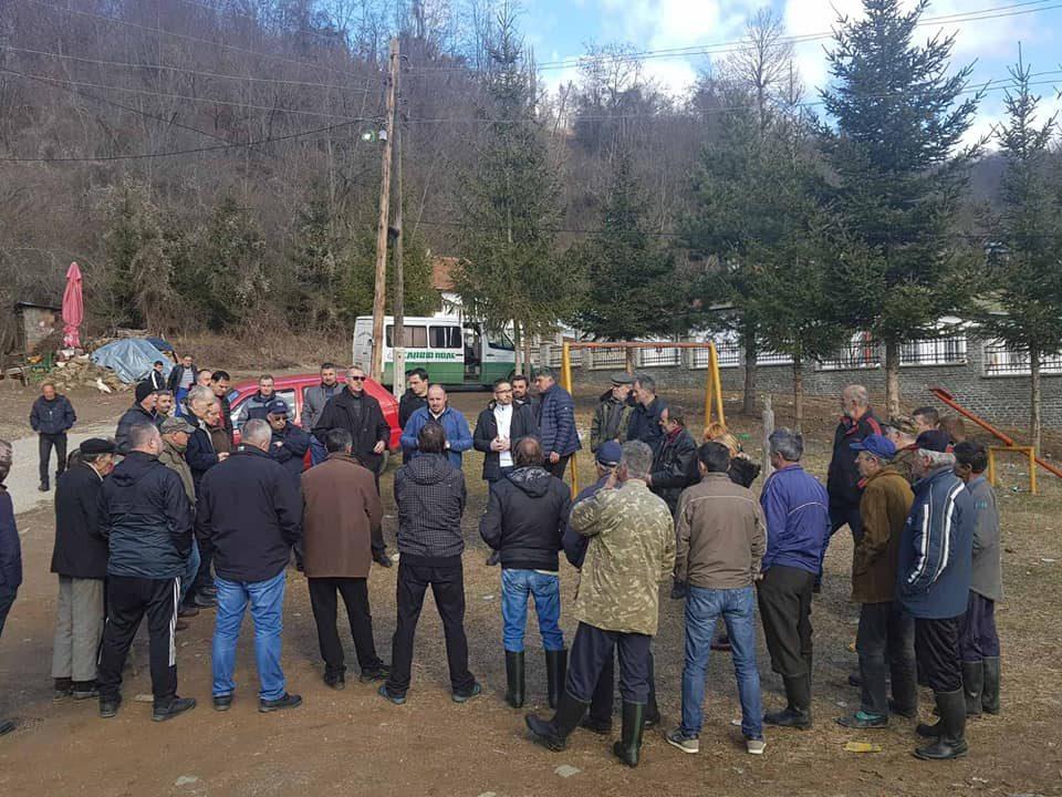 Божиновски во посета на Крива Паланка: Граѓаните нетрпеливо го чекаат 12 април, да казнат, допринесат и помогнат во Обновата на Татковината
