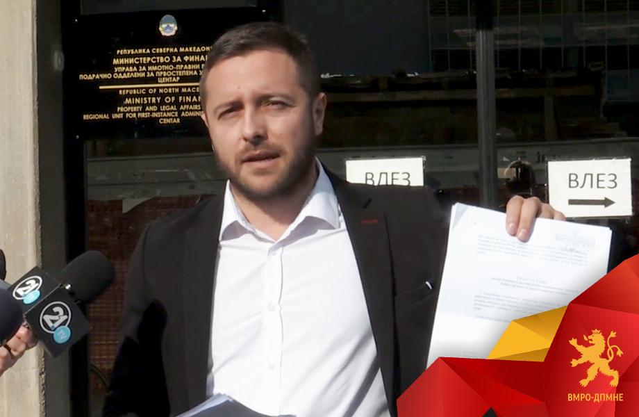 Арсовски: Системот заради Заев не функционира, имаме поднесено 100-тина кривични пријави и поднесоци кон ДКСК кои завршиле во фиока