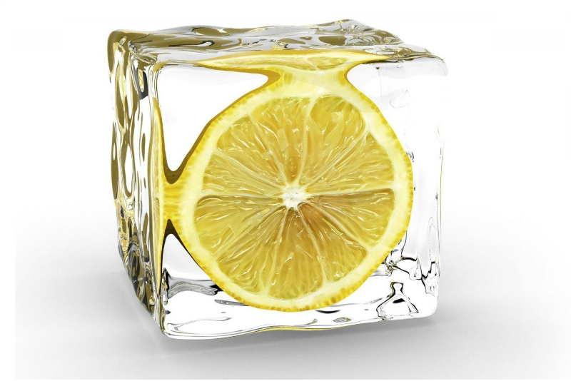 Замрзнат лимон како деликатес и лек