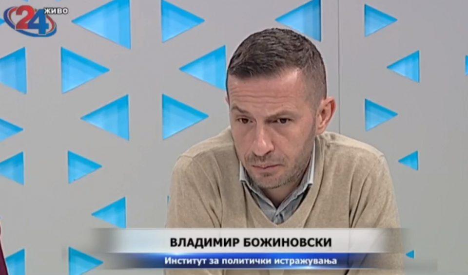 Божиновски: Сега воопшто никој нема никаква доверба во судството