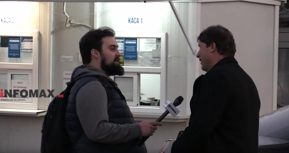"""(ВИДЕО) """"Го онадиме судството, се си иб*ло мајката"""": Поддржувачите на СДСМ paзочарани од бeгcтвото на yбиeцот на Нешкоски"""