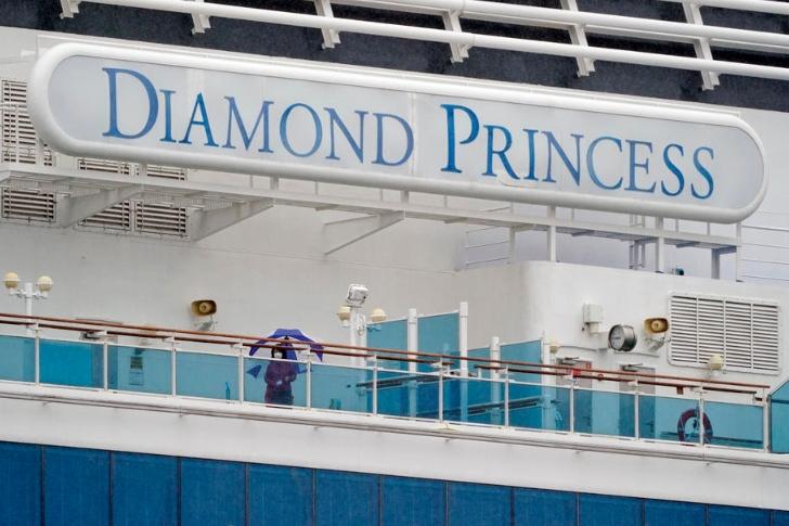 """На """"Дајмонд Принцес"""" денеска пријавени уште 70 новозаразени од Ковид-19"""