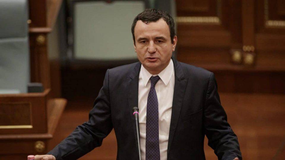 Курти: Новата косовска Влада е нелегитимна и во служба на Србија
