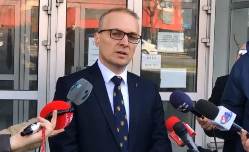 Милошоски ја достави новата снимка до Рускоска: Материјалите се релевантни, има силни индиции за прекршување на основното правило при владеењето на правото