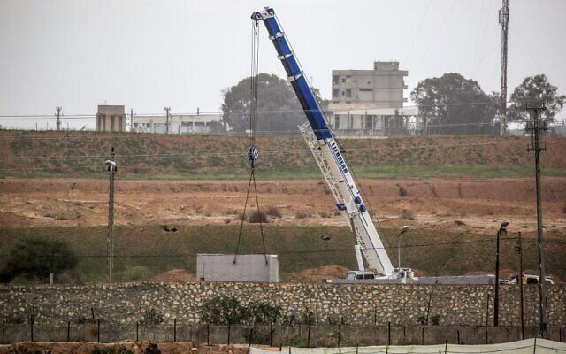 Египет гради бетонски ѕид на границата со Појасот Газа