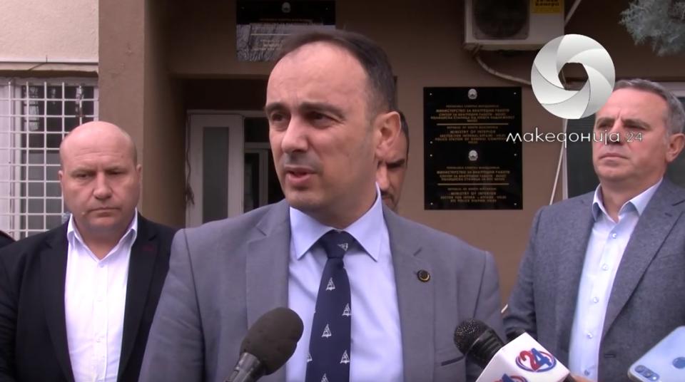 Чулев: Полицијата мора да работи според закон, никој не е над законот