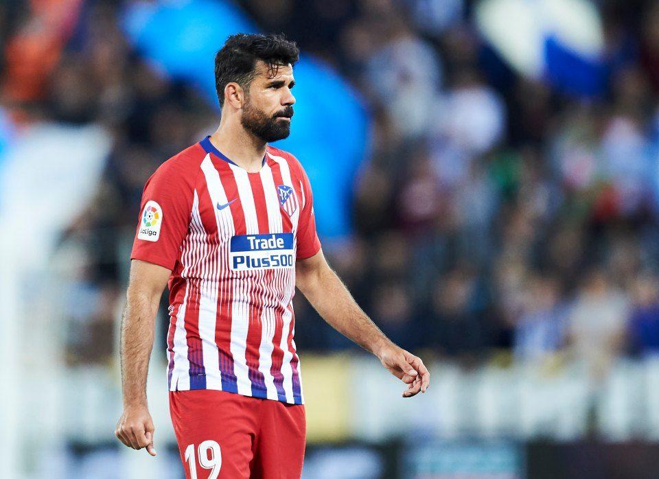 Диего Коста се врати во тимот на Атлетико за дуелот со Ливерпул