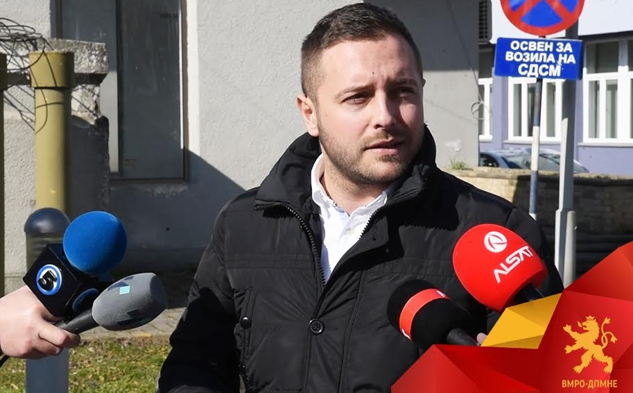Арсовски: Сите знаат дека тендер не смее да се додели без Заев, ЕКО КЛУБ од Владата на Заев добила над 60 тендери