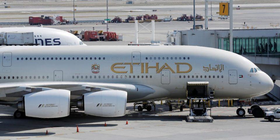 """Етихад"" заради загуби продава 38 авиони за милијарда долари"