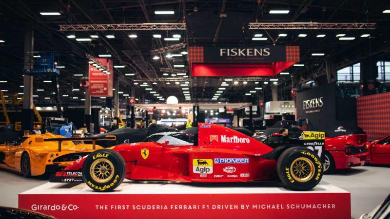 ФОТО: Се продава првото Ферари кое го возеше Шумахер