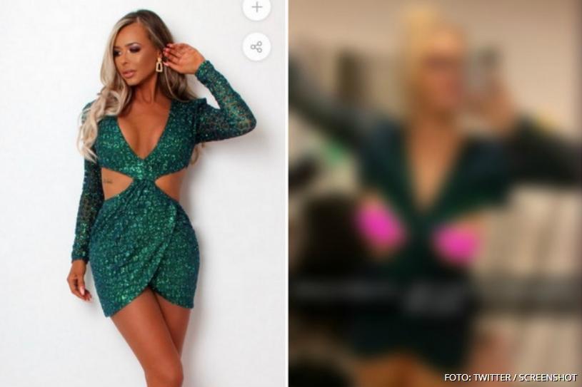 Нарача секси фустанче од Интернет, а кога ќе видите што добила ќе се изнасмеете (ФОТО)