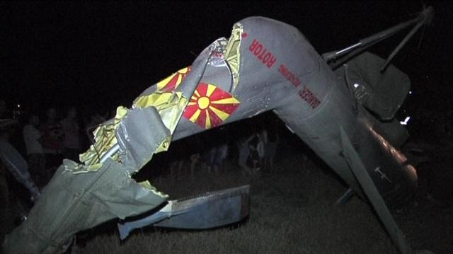 Откриена причината за хеликоптерската несреќа кај Струмица