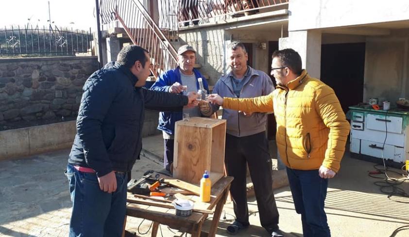 Божиновски во Псача: Граѓаните му одбројуваат на Заев и ја чекаат обновата