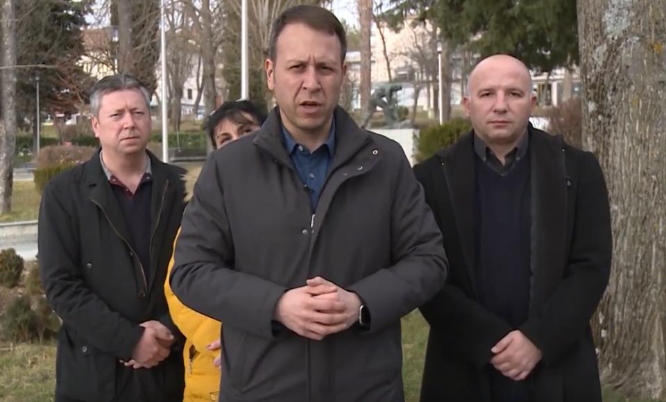 """""""Криминално рекетарската банда на Заев и на СДСМ се махери само во затворање фабрики"""""""