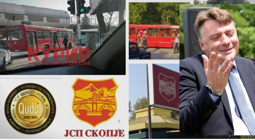 Шилегов и ЈСП во хајка против КУРИР: Искршен автобус ги разоткри нивните лаги -за едни сликата стара 8 месеци, за друг 5 години