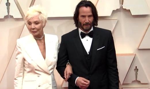 ФОТО: Киану Ривс ја донесе мајката на Оскарите, многумина помислија дека е дојден со девојката