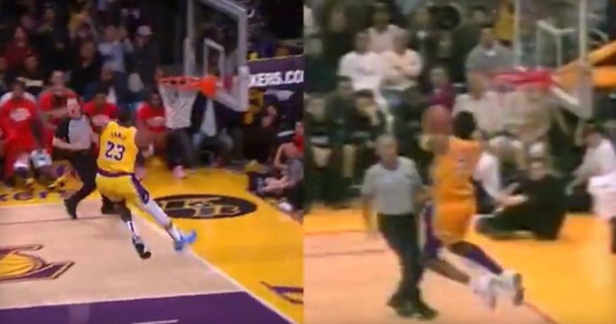 Иста арена, иста топка, исто забивање: Коби vs. Леброн