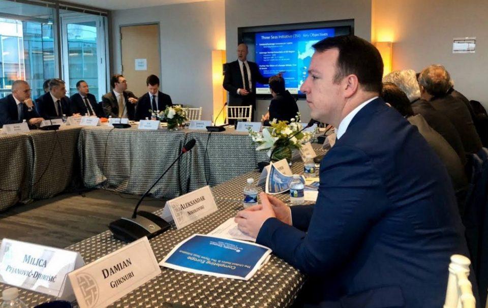 Николоски пред Атлантскиот Совет во Вашингтон: Економски развој на Македонија со помош на САД е клучен за иднината